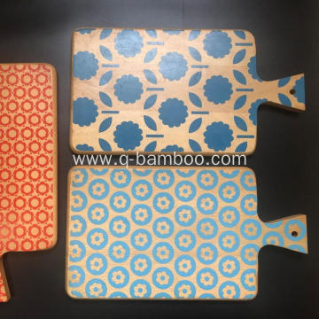 Different coloured chopping boards