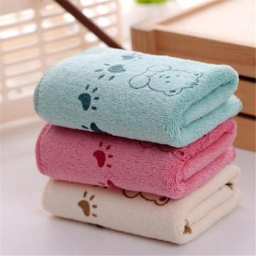 5Pcs Cute Cartoon Baby Towel Face Microfiber Absorbent Drying Bath Beach Towel Washcloth Swimwear Baby Towel Cotton Kids Towel