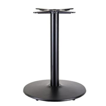 D400mm round black dining table base