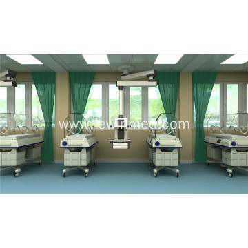 Double arm manual surgical pendant for operation room