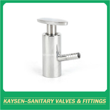 Sanitary welded sample valves