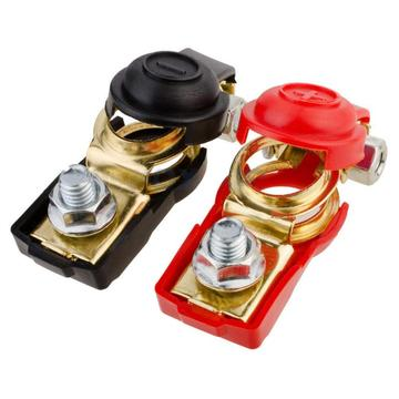 2pcs 12V Quick Release Battery Terminals Clamps for Car Caravan Boat Motorcycle Car-styling Batteries & Accessories