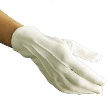 Tentera Parade White Nylon Gloves