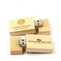 Wooden usb pen drive with free logo