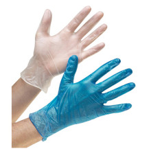 powder free examination vinyl gloves