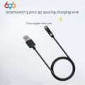 2-pin 7.62mm space Smart bracelet band Watch Magnetic Charging Cable 2pin Wristband charger Line 2 pin band charge power cable