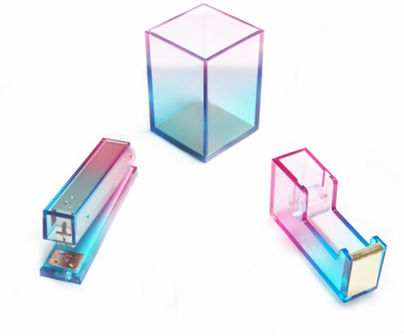 Lucite Stapler In Gradients