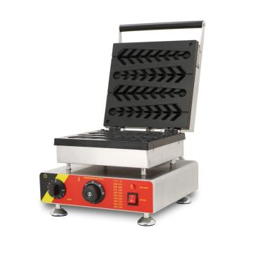 stainless steel waffle machine