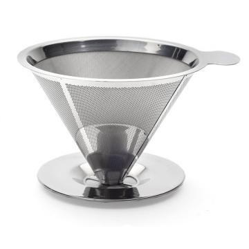 Innovative Pour Over Coffee Dripper with Scoop