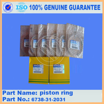 PC200-7 PISTON RING 6738-31-2031