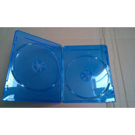 DVD Case DVD box dvd cover 7MM  DOUBLE  BLUE  RAY(YP-D864Ha)