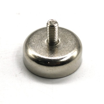 Cup mounting  Magnet with External Screw Thread