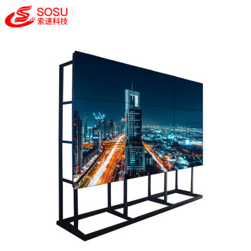 Video wall LCD de gafas 3D de 55 pulgadas