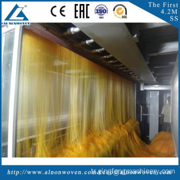 High speed AL-1600 S 1600mm non woven fabric making machine