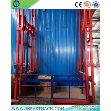 1.0t 14m Rail Stationary Hydraulic Cargo Lift