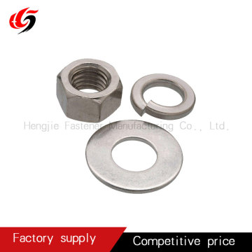carbon steel flat washer and spring washer grade4.8