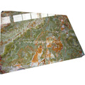 Beauty Natural Onyx Stone Green Marble Slab