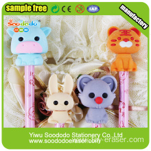 3D Cute 12 chinese zodiac Shaped Eraser,Eraser Rubber