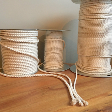 Factory directly wholesale 6mm cotton rope macrame