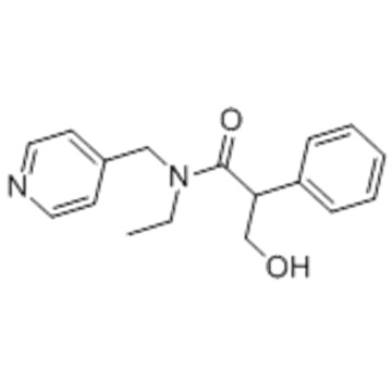 Benzolacetamid, N-Ethyl-a- (hydroxymethyl) -N- (4-pyridinylmethyl) - CAS 1508-75-4