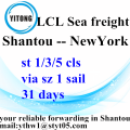 Shantou to NewYork LCL Consolidation Freight agent
