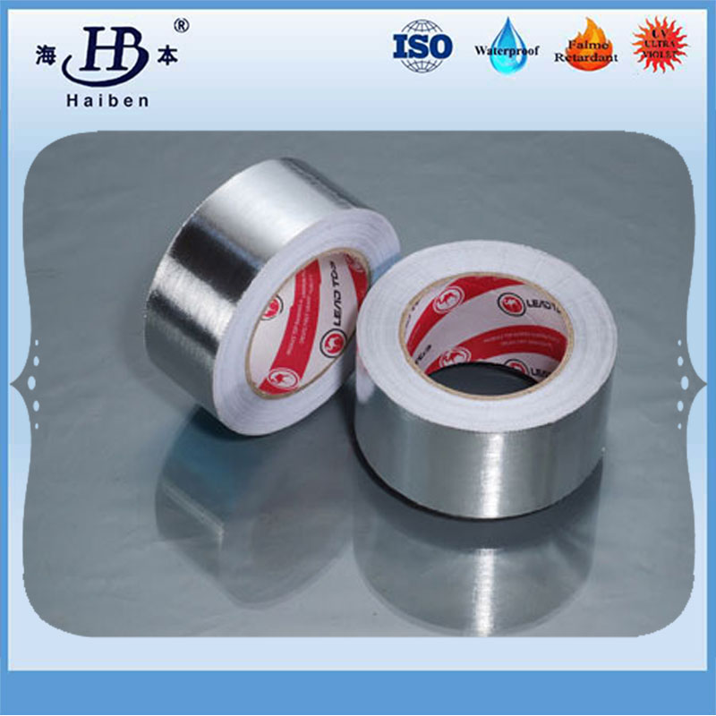 High temperature stronger adhesive aluminum foil silver tape