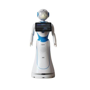 Amazing Welcoming Guests Service Robot