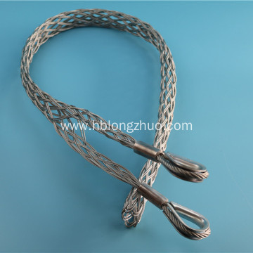 Galvanized Cable Pulling Sock Including Swivel Connector