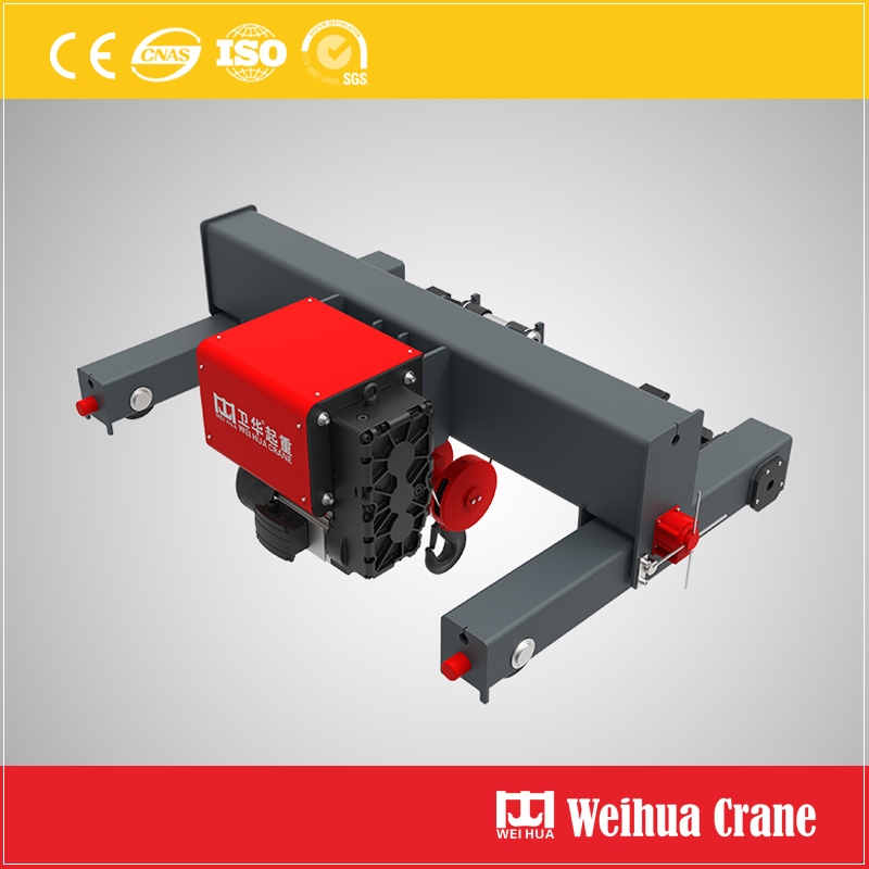 Whl Double Rail Crab Hoist