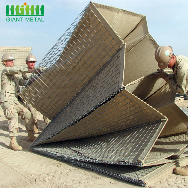 Custom Printed Welded Retaining Wall Hesco Barriers
