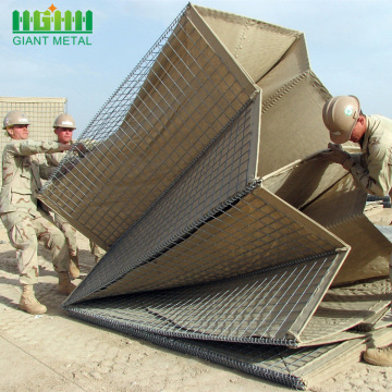 Mitigation Blast Defensive Hesco Barrier Sand Wall