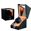 brown safe watch winders
