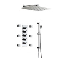 Showers Bathroom Wall Mounted Four Function Shower Faucet