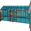Pvc Victorian Glasshouse Polycarbonate Roof Sunroom