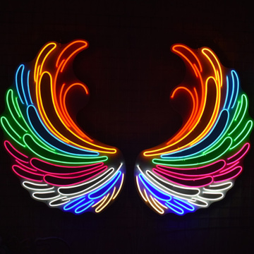 ANGEL WINGS 1 LED NEON SEGNALAZIONE ILLUMINATA