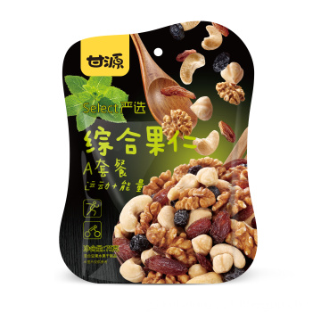 mixed dried fruits and nuts A