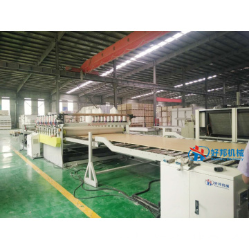 HIGH EFFICIENT WPC FOAM BOARD PRODUCTION LINE