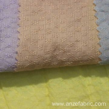 100% cotton dobby stripe fabric for dress