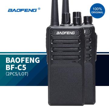2020 New best radio bf-888 plus walkie talkies baofeng BF-C5 uhf handheld transceiver 5w two way radio tour guide system