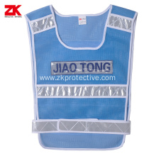 Traffic Blue  Mesh warning clothing