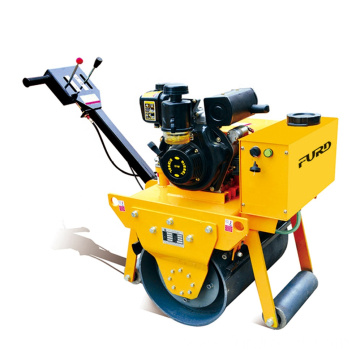 China supply wholesale small road machinery mini construction equipment mini road roller FYL-600C