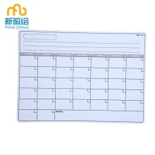 Weekly Monthly Planner Magnetic Dry Erase Board