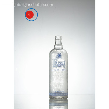 Luxury Russian Vodka Bottle with Antique Shape