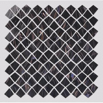 Black Glass Mosaic Walls Of Hotels And KTV