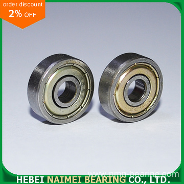 626-ZZ miniature ball bearing 6x19x6 shielded