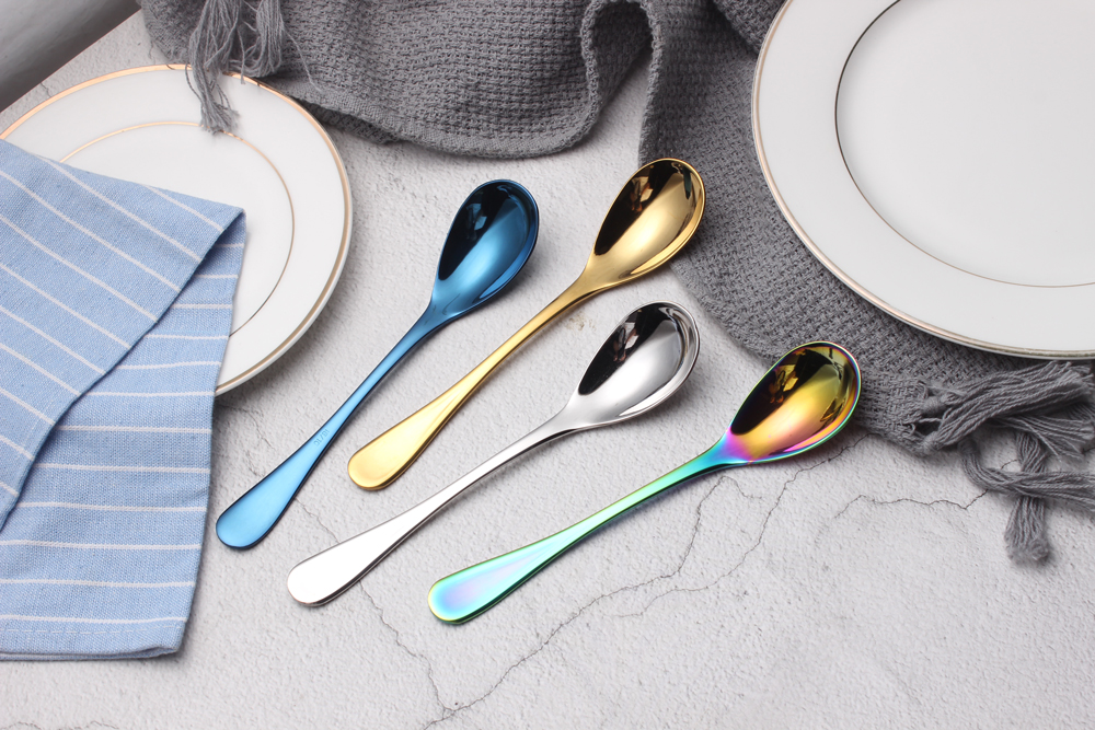 Stainless Steel Dessert Spoon
