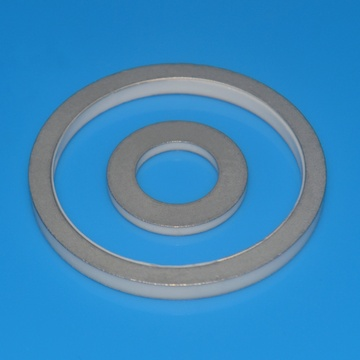 High Precision Alumina Ceramic Ring With Metallization
