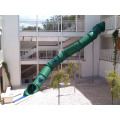 Backyard Equipment Tube Slide Structures For Children