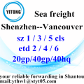 Shantou to Vancouver​ ocean freight shipping timetable