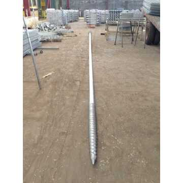Flange Ground Screw Pile